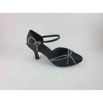 Black ballroom shoes for girls