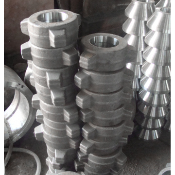 Three-jaw nuts forging for wellhead