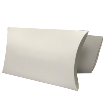 Wholesale Blank Kraft Luxury Gift Paper Pillow Box