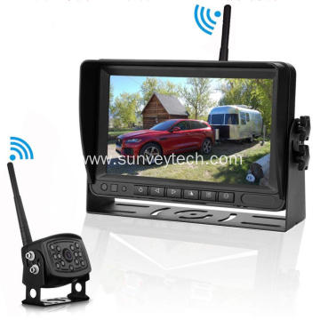 Vehicle Monitoring Parking Reversing Camera and Monitor System Digital Wireless