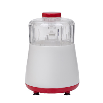 Electric food chopper with removable bowl