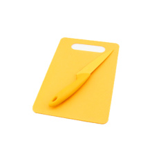 Rectangle PP chopping board w/o knife