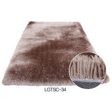 Elastic & Silk Shaggy Modern Carpet