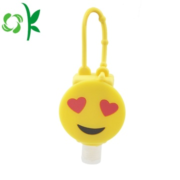 Silicone Washable 3d Hand Sanitizer Holder OEM
