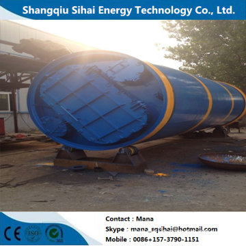 Waste Tires Refinery Fuel Oil Cracking Machine