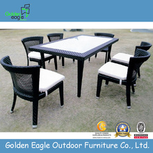 Garden Furniture Sets Wicker dining 7 pcs