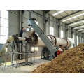 Rice husk biochar continuous charcoal carbonization furnace