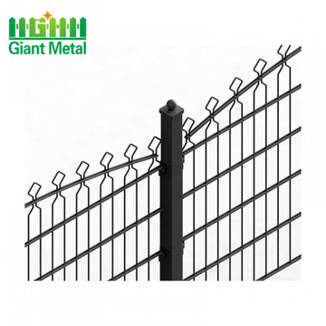 656 double wire fence