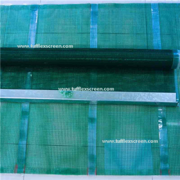 12mm Wire Rope Diameter Tufflex Screen Mesh