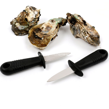 Uncut stainless steel oyster knife