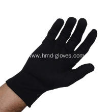 Legend Parade Fashion Inspection Black Cotton Gloves
