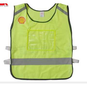 luminous reflective warning waistcoat