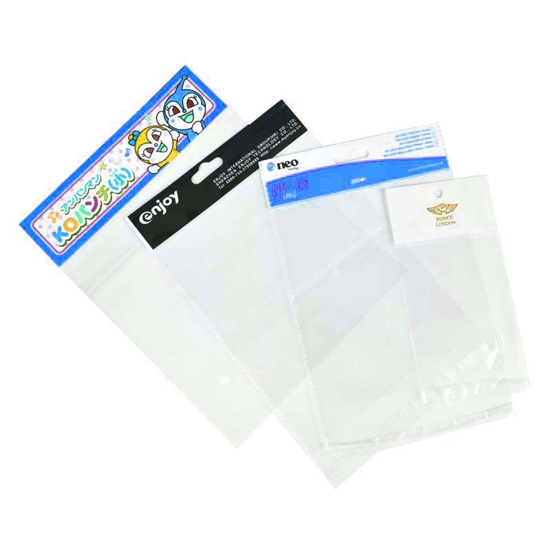 Thickened OPP Card Head Plastic Bag