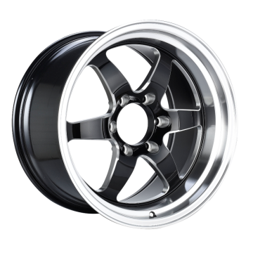 Rear Truck Rim 18x10.5 Black Milled Spoke