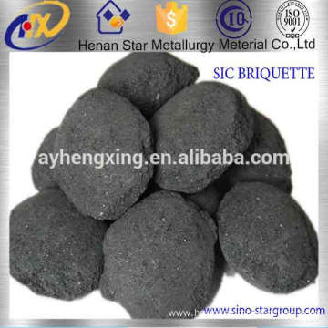 Silicon Carbide Briquette Using In Cupola Melted Gray And Ductile Base Iron
