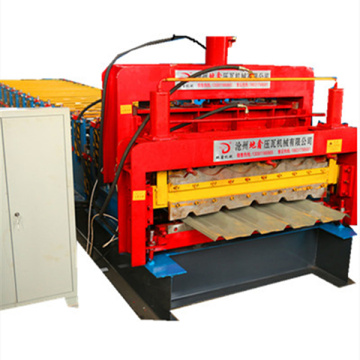 glazed roof profile sheet roll forming machine