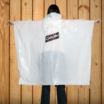 Milky white export to Australia poncho