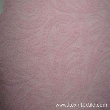 3D flower monofil jacquard fabrics wholesale factory