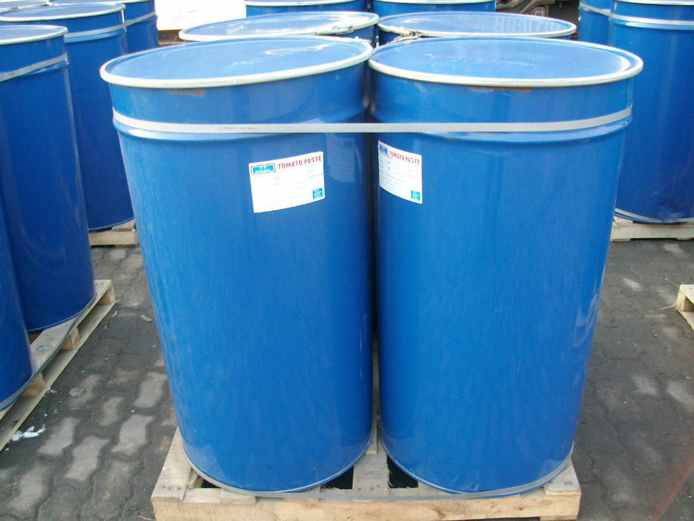 36-38% Drum Tomato paste Packaging in Barrel