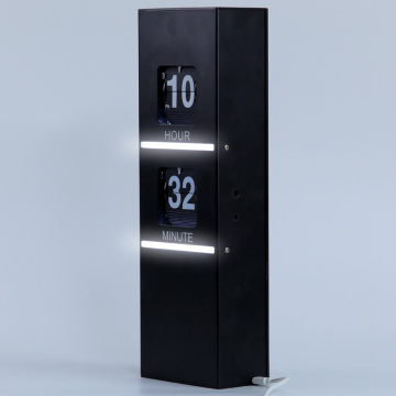 Flip Clocks with Decorative Light for Home Decoration