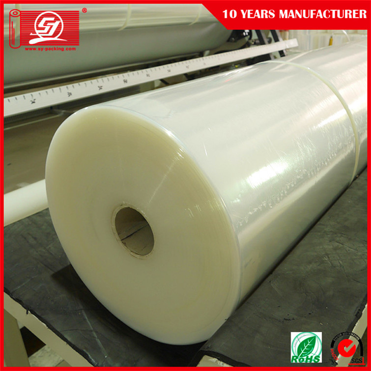 100% Virgin Material LLDPE Stretch Film Jumbo Rolls