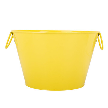 Colorful Round Shape Water Bucket Tin