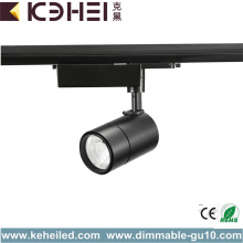 20W LED Track Lights 3 Phase Warm White