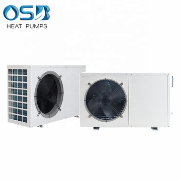 Small air to water heat pump for home