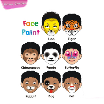 Non Toxic Face Painting Kits