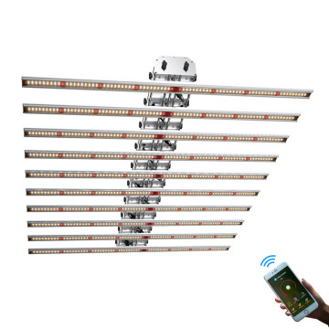 Phlizon Dimming LED Grow Light Bars 640W
