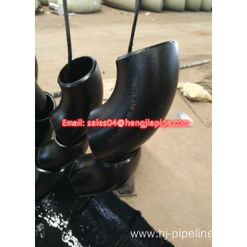 DN65 CS Black carbon steel elbow
