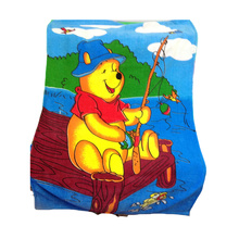 round  hooded beach towels for kids
