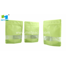 OEM manufacturer custom for Biodegradable Coffee Packaging Cotton/Rice Paper Bag With Window export to Poland Manufacturer