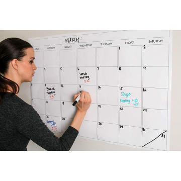 Office Giant Weekly Dry Erase Board Whiteboard Calendar