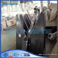 factory customized for Hydraulic Ship Anchor Custom steel ship anchor price export to Cote D'Ivoire Factory