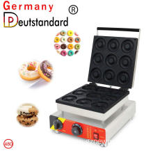 9 hole donut maker with CE