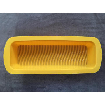 Rectangular silicone cake bread baking mold