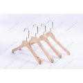 Fancy Customized Natural Lotus Wooden Clothes Hangers