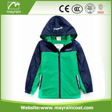 Kids PU raincoat with Reflector