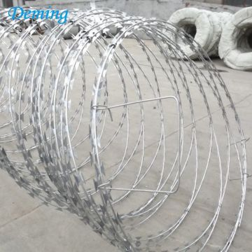 BTO-22 960mm diameter galvanized military razor barbed wire