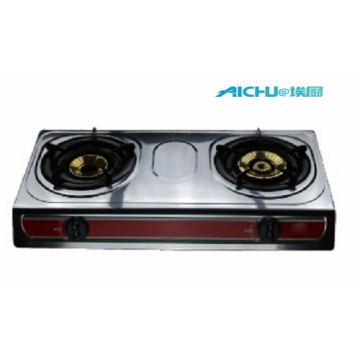 2 Burners Hot Plates Gas Stove