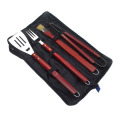 4pcs stainless steel bbq grill tools set