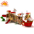 Playhouse castle playground on the square