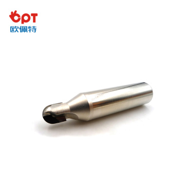 PCD long groove router bit hardwood for aluminum
