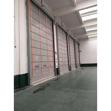 pvc fold up speed rolling door