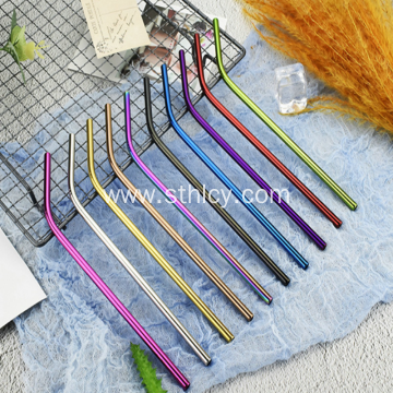 304 Stainless Steel Straws for Catering Kitchen Utensils