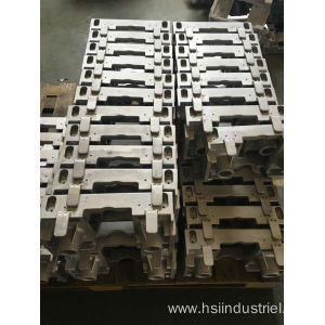 Customized Supplier for Gravity Casting Aluminum Parts Aluminum Casting Bracket supply to Peru Factory