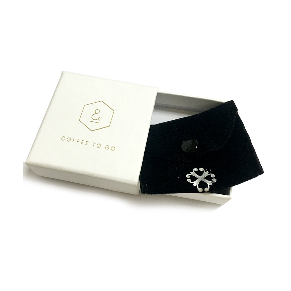 Luxury Drawer Jewelry Ring White Paper Packaging Box
