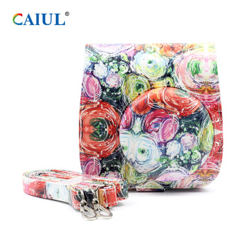 Fuji Mini 9 Instax Camera Bag Impresionistic Flower