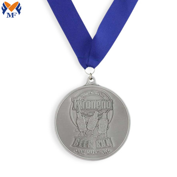 Quality metal half marathon finisher medals